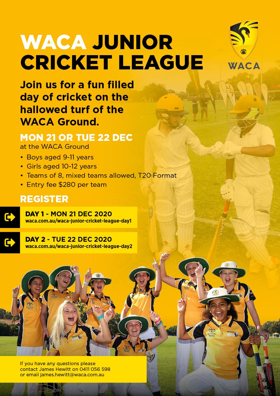 WACA Junior Cricket League