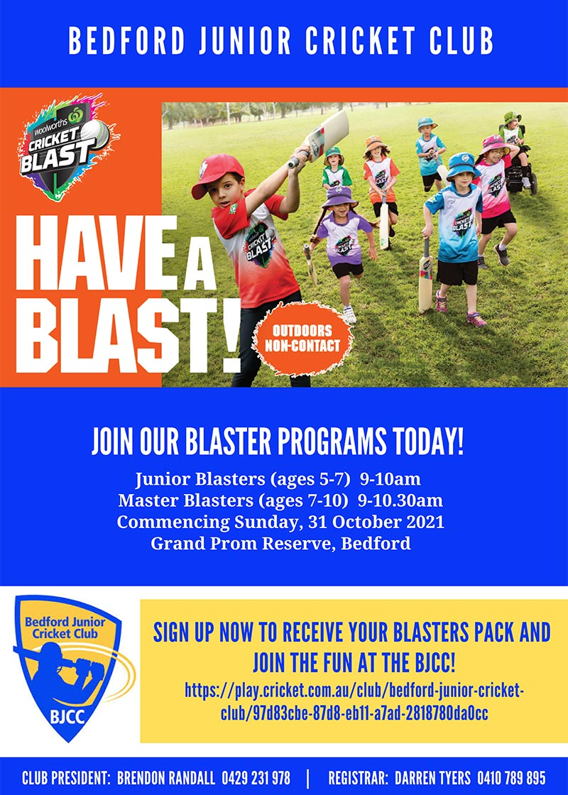 Join our Blaster Programs Today!